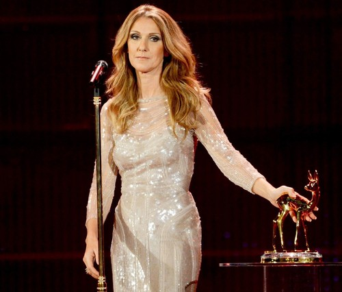 Celine At Bambi Awards 2012