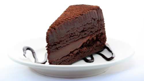 Chocolate wallpaper containing an ice cream, a chocolate ice cream, and a frosted layer cake entitled Chocolate Cake