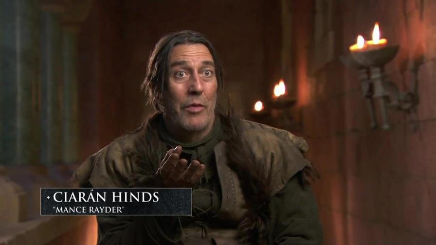 Ciarán Hinds as Mance Rayder