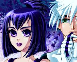 Danny Phantom wallpaper containing anime entitled Cute Danny and Sam anime