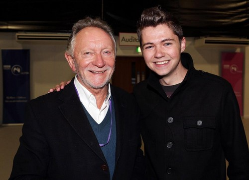 Damian at the Sons and Daughters opening night in Derry