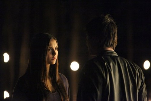 Damon and Elena Catch Me if Du Can 4x11 Promo Foto