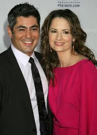 Danny Nucci and Paula Marshall