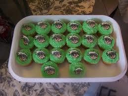 Danny Phantom cupcakes