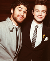 Darren & Chris  - glee photo