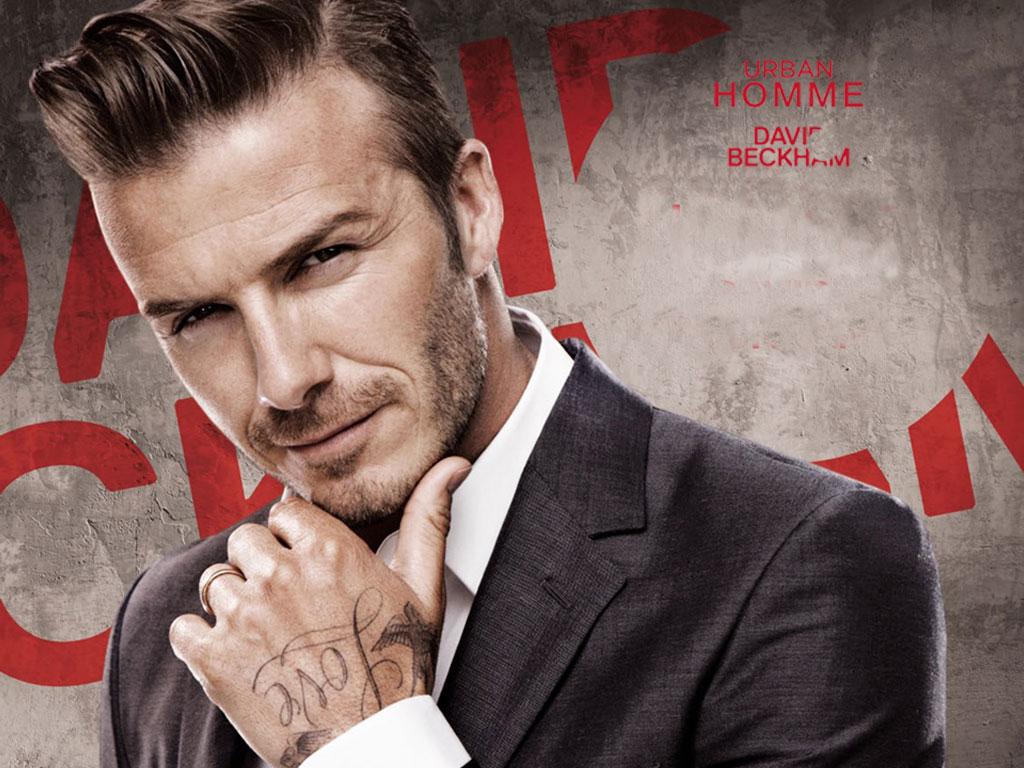 David Beckham Hairstyle 2013