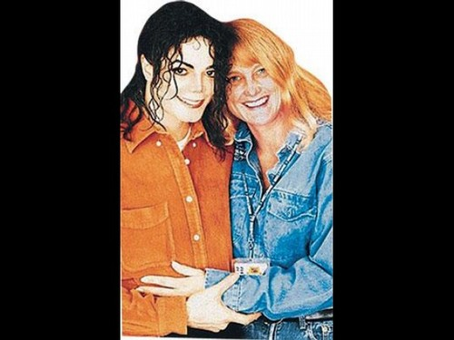 Debbie Rowe with Michael