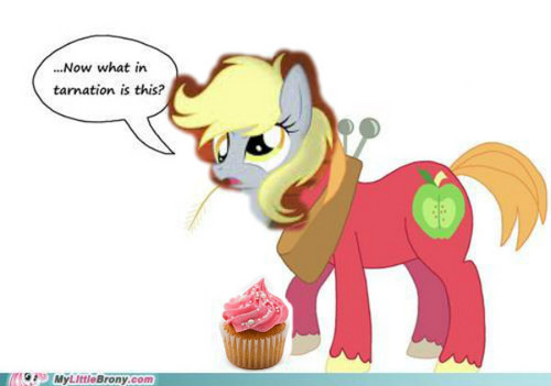 Derpy and Cupcakes?