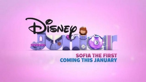 디즈니 Junior Logo - Sofia the First Variation