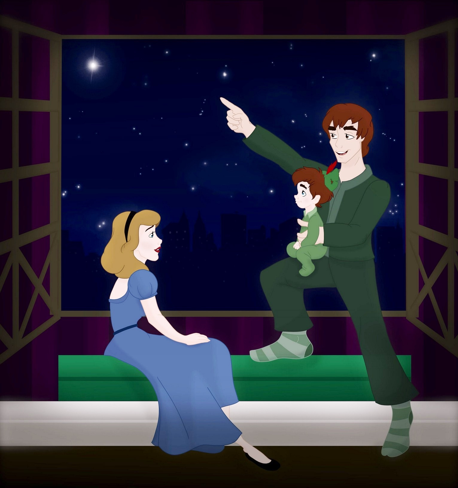 Disney/ Non Families by: Grodansnagel