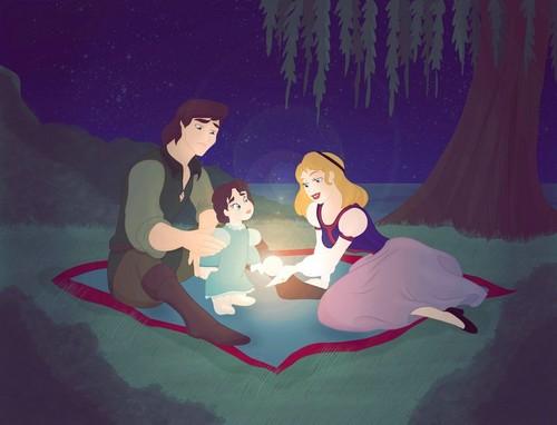 Zeichentrick-Heldinnen der Kindheit Hintergrund called Disney/Non Families by: Grodansnagel