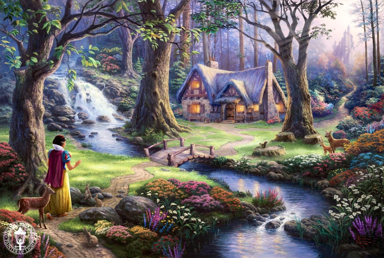 迪士尼 Princesses artist paintings