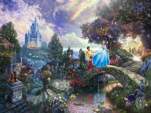 Disney Princesses artist paintings