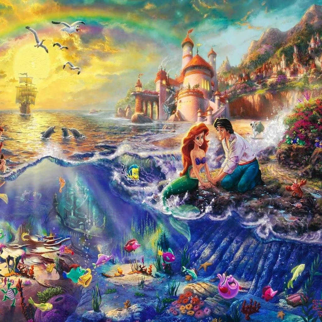 Disney Princesses artist paintings  Disney Princess Photo 33316080