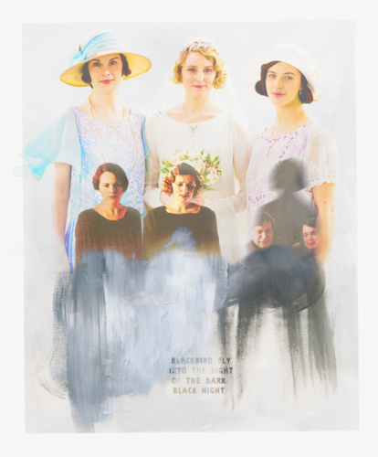 Downton Abbey वॉलपेपर with a fedora entitled Downton Abbey