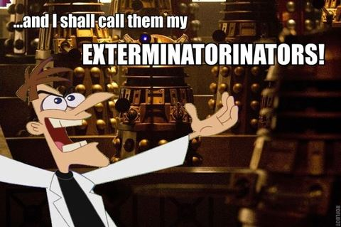 Dr. Doof and Daleks