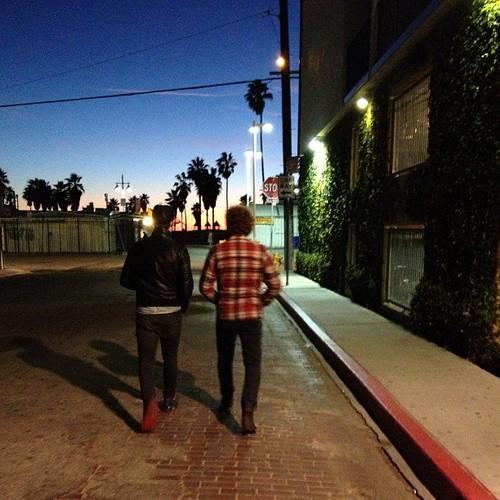 Ed back in LA