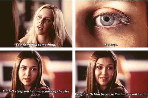Elena about Damon