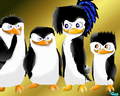Emma with her brothers. :P - emma-the-penguin photo