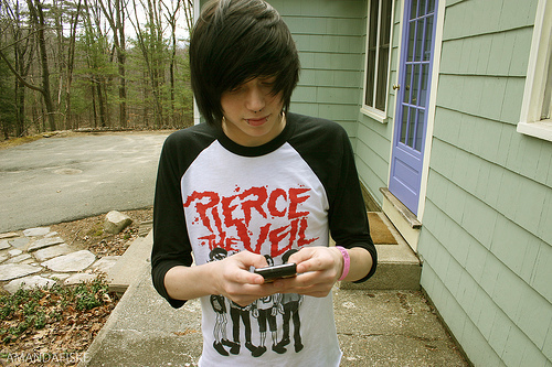 Emo wallpaper entitled Emo Boy