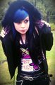 Emo scene girl Jacqueinabox