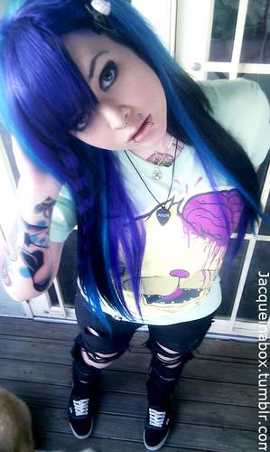 Emo girls images emo scene girl jacqueinabox hd wallpaper and background photos 33328895 - Emo scene wallpaper ...