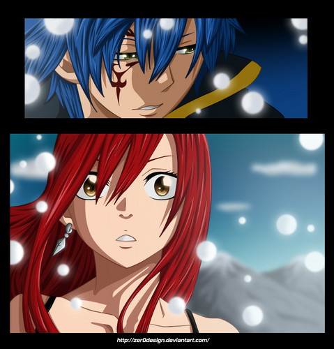 Erza Scarlet wallpaper probably with anime titled Erza