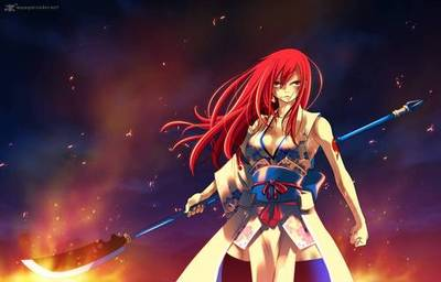 Erza Scarlet wallpaper entitled Erza