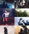 Faceless + Morgana Pendragon (le Fay) - merlin-on-bbc fan art