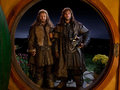 Fili and Kili at Door