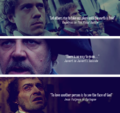 Final Line of Les Misérables Characters - les-miserables fan art