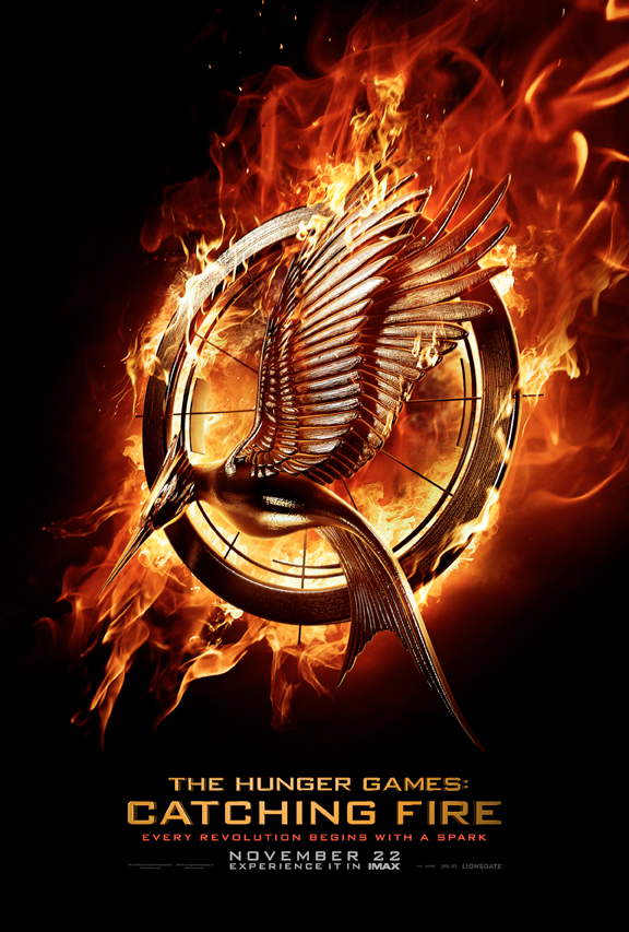 First  Official  Teaser  Poster For  Catching  Fire The Hunger Games Movie