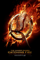 First Official Teaser Poster for Catching Fire