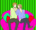 France  England - hetalia-fruk photo