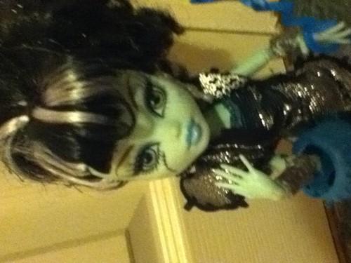 Frankie ghouls rule doll