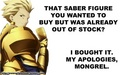 Gilgamesh's 'Words of Wisdom' - haremaster99 photo