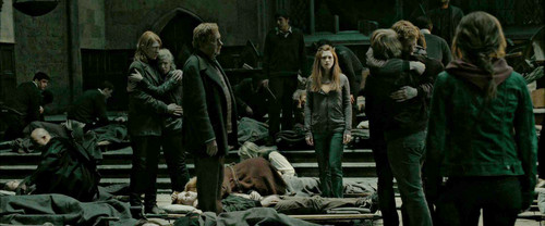 Ginny and the Weasley :'(
