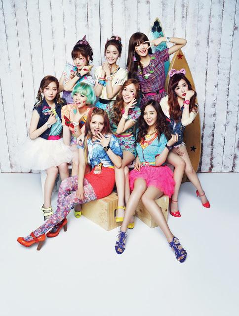 Girls' Generation @ Casio 'Kiss Me Baby-G'