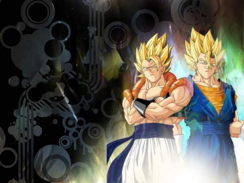 Gogeta and vegeth