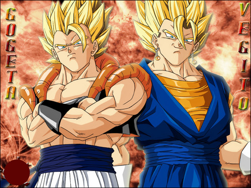 Dragon Ball All Fusion Wallpaper Probably Containing Anime Titled Gogeta And Vegeth