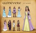 Guinevere's Costumes Through The Seasons (3) - arthur-and-gwen photo