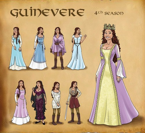 Guinevere's Costumes Through The Seasons (3)