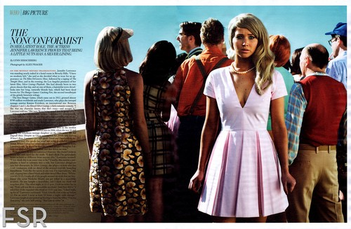 "HQ scan: Jennifer in ""W"" magazine USA {February 2013}."