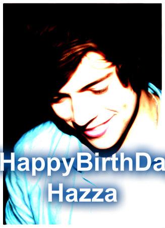 Happy Birthday Hazza