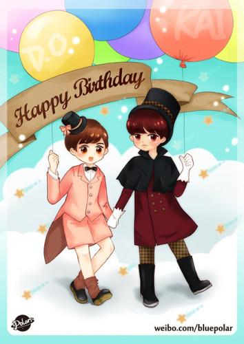 Happy Birthday Kai~♥