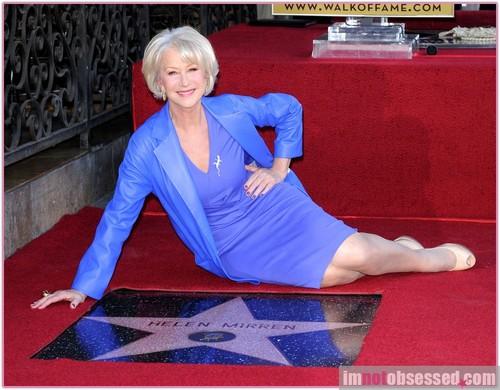 Helen receives her stella, star ;)