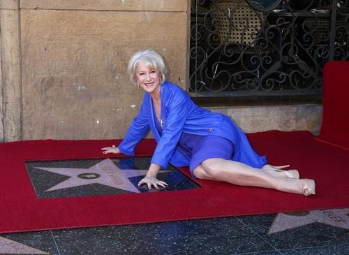 Helen receives her star ;)