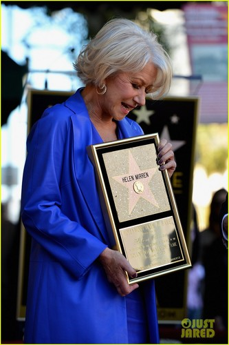 Helen receives her stella, star ;)