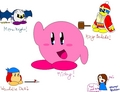 I made Kirby Characters! :D