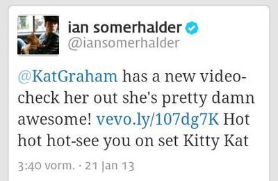 Ian to our Kitty Kat <3